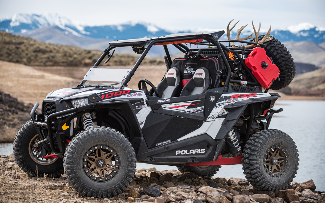 UTV hunting machine